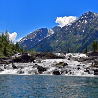 Шумы между первым и вторым Мультинскими озерами. :: Nina Streapan