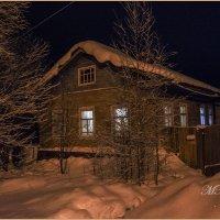 Домик,просто домик зимой. :: Марина Никулина