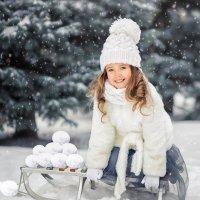 Играем в снежки :: Юлия MAK