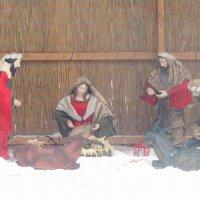 Рождественский вертеп во дворе Армянской церкви... :: Тамара (st.tamara)