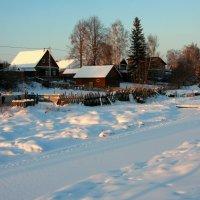 Зима на Заречной улице... :: Нэля Лысенко