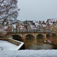 В  Лауфе  выпал  снег,зима :: backareva.irina Бакарева