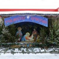 Вертеп у храма в честь священномученика Кирилла Казанского :: Наиля