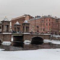 Мост Ломоносова (1) :: Олег Денисов