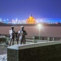 Памятник труженикам Волги :: Юлия Батурина