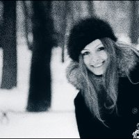 Зимний портрет в Летнем саду / 1974 / :: Цветков Виктор Васильевич