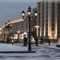 Москва. ул. Тверская :: Татьяна Ларионова