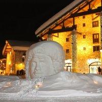 Снежная голова, Альпы :: ZNatasha -