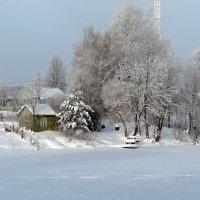 Затерялась в снегах деревенька... :: Вячеслав Маслов