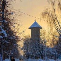 Зимний вечер в Кольчугино :: Павел