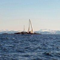 Белеет парус одинокий в море ледяном :: Андрей Иванович (Aivanovich-2009)