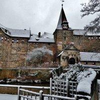 Венцельшлёсс, замок зимой ! :: backareva.irina Бакарева