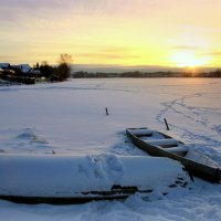 Зимний пруд :: Нэля Лысенко