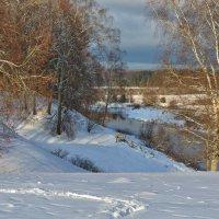 Зима в Тригорском :: Леонид Иванчук