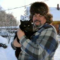 Друг Александр и его кот. :: Михаил Столяров