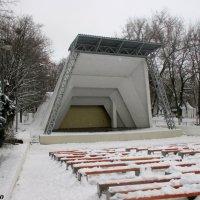 Летняя эстрада в зимнем парке :: Нина Бутко