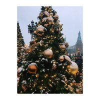 Новогодняя Москва :: Julia Volkova