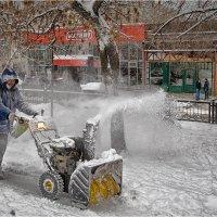 А Снег кругом ... :: Василий Бобылёв