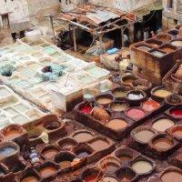 Красильня кожи,которой более тысячи лет :: Гала