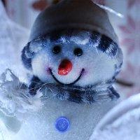 "Портрет доброго Снеговика-""Весельчака"". :: Mila ."