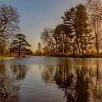 Озеро в закате :: Дмитрий Сорокин