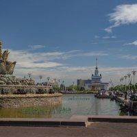 Фонтан «Каменный цветок» Москва , ВДНХ. :: Светлана Мельник