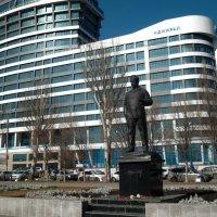 Памятник Шолохову. :: Анфиса