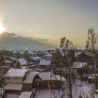 редкое солнце января :: Петр Беляков