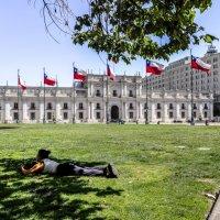 Президентский дворец Ла Монеда :: Георгий А