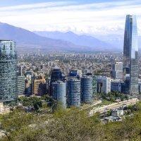 современная столица Сантьяго де Чили :: Георгий А