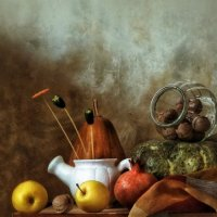 with fruit and vegetables :: alexandr lin