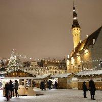 Новогодний Таллинн :: Александр Шалабай