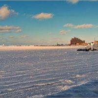 Замерзло море. :: Николай Тишкин
