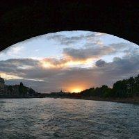 Вечер на Сене :: Ольга