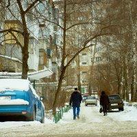 Снежные зарисовки на ретро объектив ❄ :: Владислав Левашов