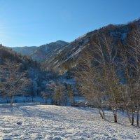 Уходит солнышко за горы. :: Валерий Медведев