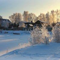 Январь сковал морозом реку... :: Нэля Лысенко