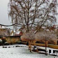 Когда  шёл  снег :: backareva.irina Бакарева