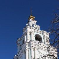 Колокольня (фрагмент) Курского Сергиево-Казанского кафедрального собора. :: Надежд@ Шавенкова