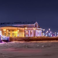 Стрелка васильевского острова :: Дмитрий Рутковский