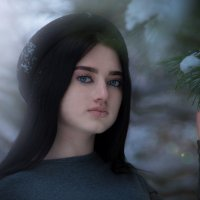 Алина :: Ольга Бездольная