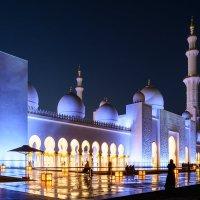 Мечеть шейха Зайда, Абу-Даби, О.А.Э. :: Александр Янкин