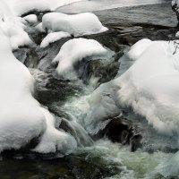 Зимний ручей :: Elena Wymann