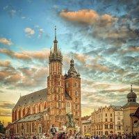Рыночная площадь Кракова :: Александр Бойко