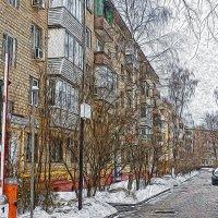 Московский дворик :: Алексей Виноградов