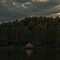 Вечер на озере :: Наташа Акимова
