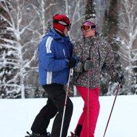 Любовь на лыжах! :: Дмитрий Арсеньев