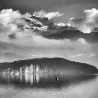 Альпы в тумане и в дымке :: Георгий А
