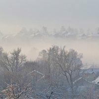 зимний туман :: НАТАЛЬЯ