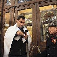 Москва , у ресторана. :: Любовь